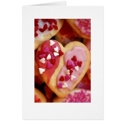 """""""Galletas #2 de la tarjeta del día de San Valentín"""