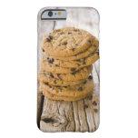 galletas 2 del microprocesador del chocolte funda barely there iPhone 6