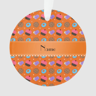 Galletas anaranjadas conocidas de la torta de los