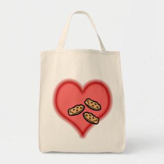 galletas bolsa tela para la compra