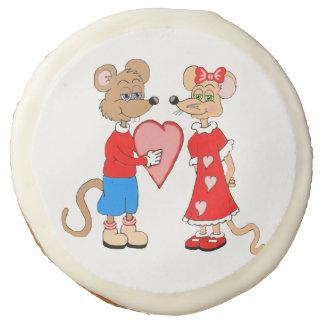 Galletas de azúcar de los ratones del amor