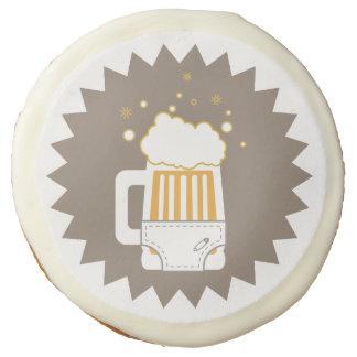 Galletas de azúcar del fiesta de la cerveza y del