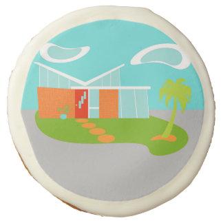 Galletas de azúcar modernas de la casa del dibujo