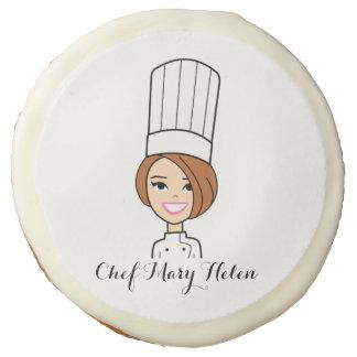 Galletas de encargo del arte de la cocina con el
