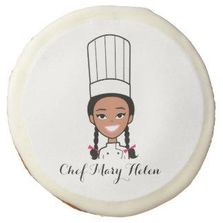 Galletas de encargo del cocinero del dibujo
