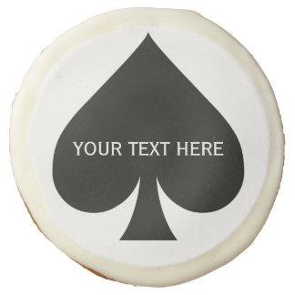 Galletas de encargo del jugador de tarjeta
