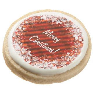Galletas de encargo del navidad - rojo y blanco
