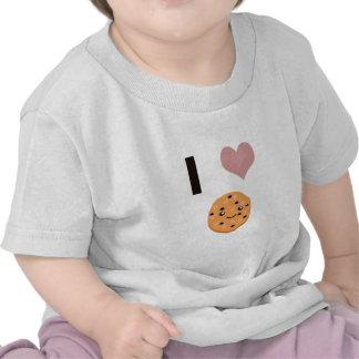 Galletas de harina de avena del corazón I Camisetas