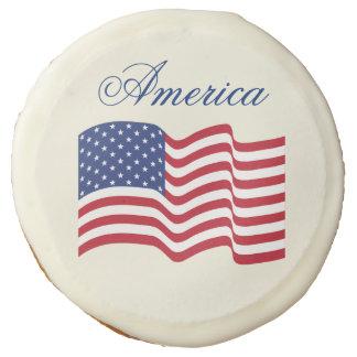 Galletas de la bandera americana