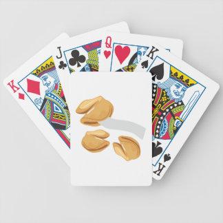 Galletas de la suerte baraja