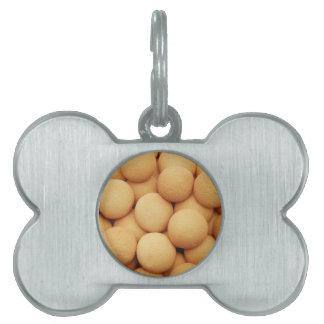 Galletas de la vainilla placas mascota
