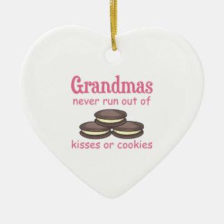 Galletas de las abuelas ornamento para arbol de navidad