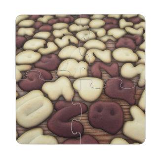 Galletas de las galletas de la vainilla y del choc