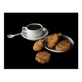 Galletas de mantequilla de cacahuete tarjeta postal