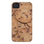 Galletas de microprocesador de chocolate Case-Mate iPhone 4 protector