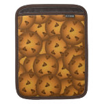 Galletas de microprocesador de chocolate funda para iPads