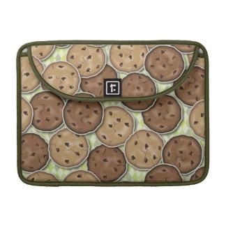 Galletas de microprocesador de chocolate funda para macbook pro