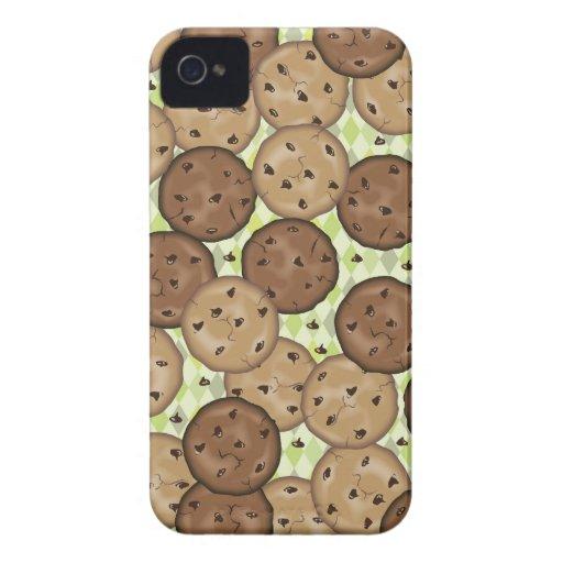 Galletas de microprocesador de chocolate iPhone 4 Case-Mate cárcasas