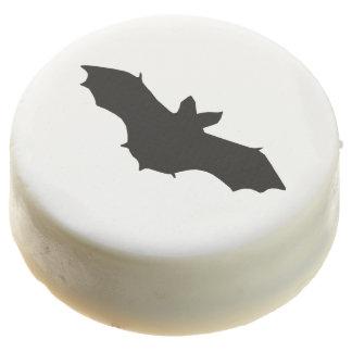 Galletas de Oreo negras del palo de Halloween