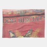 Galletas de perro toallas de cocina