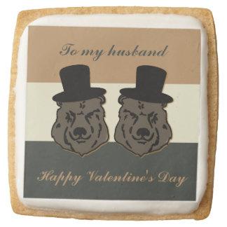 Galletas de torta dulce gay de la tarjeta del día