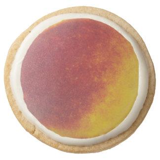 Galletas de torta dulce redondas del melocotón -