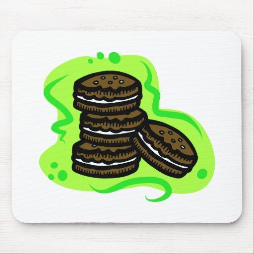 Galletas del chocolate tapete de ratones