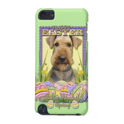 Galletas del huevo de Pascua - Airedale Funda Para iPod Touch 5G