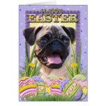 Galletas del huevo de Pascua - barro amasado