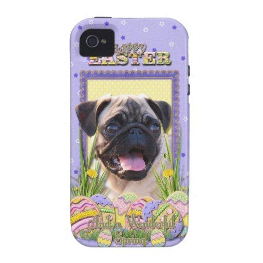 Galletas del huevo de Pascua - barro amasado Case-Mate iPhone 4 Funda