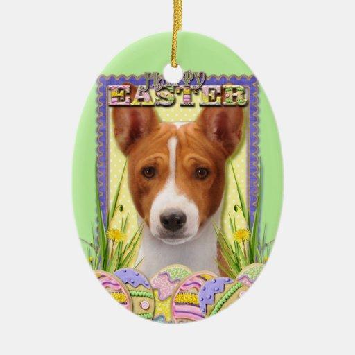 Galletas del huevo de Pascua - Basenji