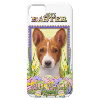 Galletas del huevo de Pascua - Basenji Funda Para iPhone 5 Barely There