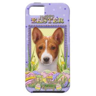 Galletas del huevo de Pascua - Basenji Funda Para iPhone 5 Tough