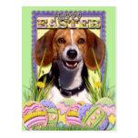 Galletas del huevo de Pascua - beagle Tarjetas Postales