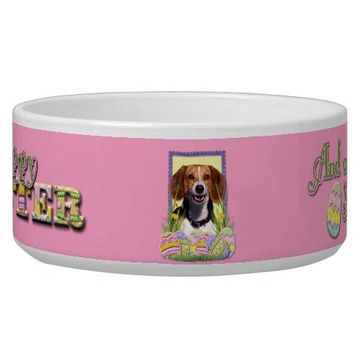 Galletas del huevo de Pascua - beagle Tazones Para Perrros