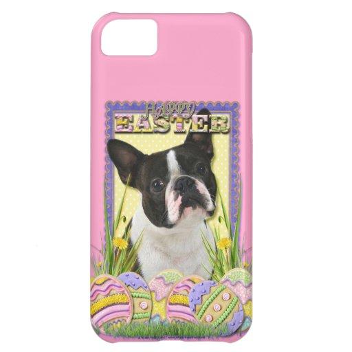 Galletas del huevo de Pascua - Boston Terrier