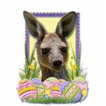 Galletas del huevo de Pascua - canguro Escultura Fotografica