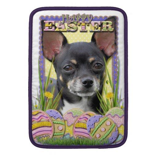 Galletas del huevo de Pascua - chihuahua Fundas MacBook