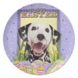 Galletas del huevo de Pascua - Dalmatian Plato Para Fiesta