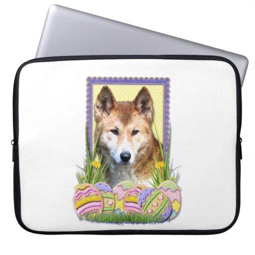Galletas del huevo de Pascua - Dingo Funda Portátil