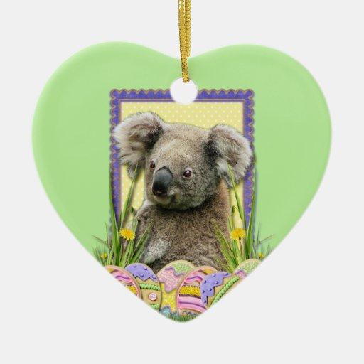 Galletas del huevo de Pascua - koala Ornamentos De Reyes