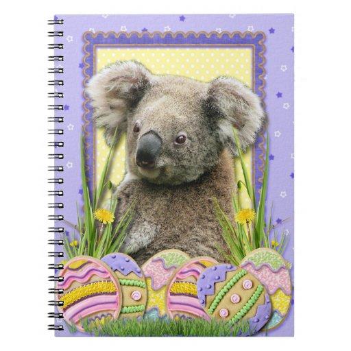 Galletas del huevo de Pascua - koala Cuadernos