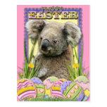Galletas del huevo de Pascua - koala Postal