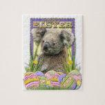 Galletas del huevo de Pascua - koala Rompecabezas Con Fotos