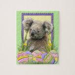 Galletas del huevo de Pascua - koala Puzzle