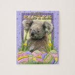 Galletas del huevo de Pascua - koala Puzzles