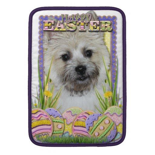 Galletas del huevo de Pascua - mojón Terrier Funda Para Macbook Air