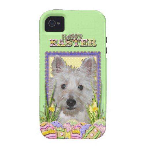 Galletas del huevo de Pascua - montaña del oeste T Case-Mate iPhone 4 Carcasas