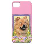 Galletas del huevo de Pascua - perro chino de perr iPhone 5 Case-Mate Funda