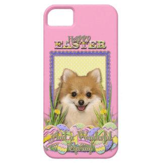 Galletas del huevo de Pascua - Pomeranian iPhone 5 Case-Mate Funda